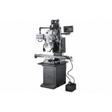 JET JMD-50LPFD Редукторный фрезерно-сверлильный станок с автоматической подачей пиноли шпинделя, механизированным приводом по оси Z и УЦИ